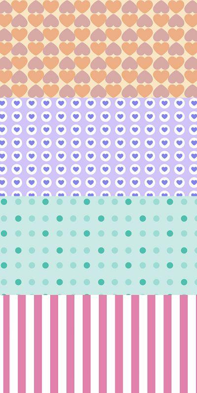 Papel Deco de Craftingeek. Estos son de los diseños más descargados para tus scrapbook y tarjetas. ¡Entra a nuestro blog!