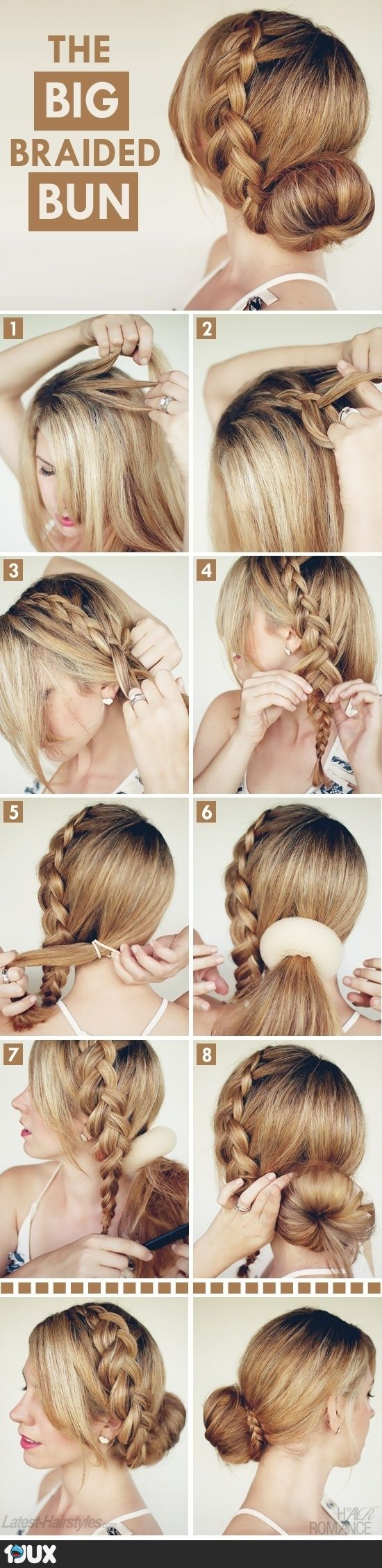 Hairstyle tutorial simple