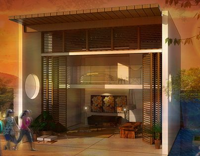 """Check out new work on my @Behance portfolio: """"Brazil House"""" by Handy Setiawan http://be.net/gallery/34762705/Brazil-House"""