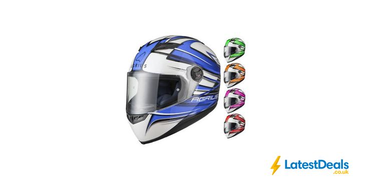 Agrius Rage Charger Motorcycle Helmet Full Face Scooter Motorbike, £23.99 at ebay