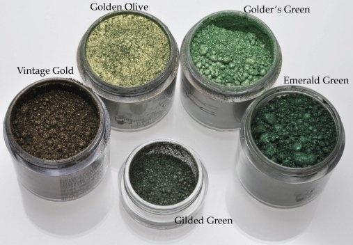 MAC Gilded Green 1