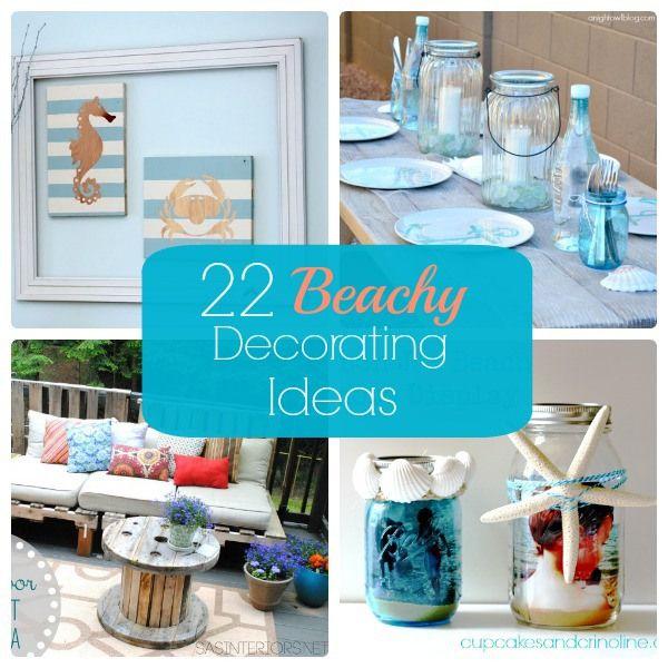 Great Ideas — 22 Beachy Decorating Ideas