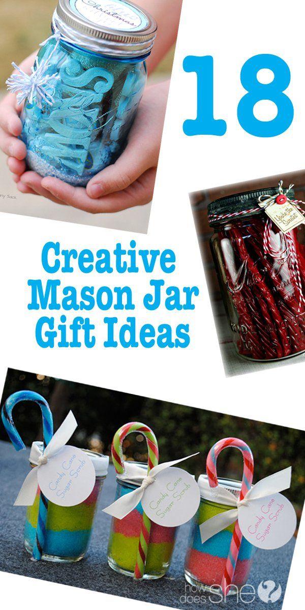 196 best gift ideas images on pinterest christmas gift ideas hand mason jar gift ideas negle Gallery