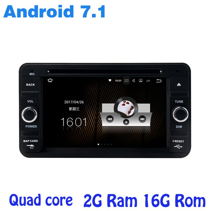Quad core Android 7.1 car radio gps no DVD player for suzuki Jimny 2007-2015 with 2G RAM wifi 4G USB RDS audio stereo bluetooth #Affiliate