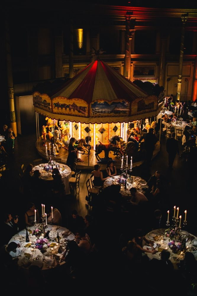 Insane Italian Vintage Circus Wedding