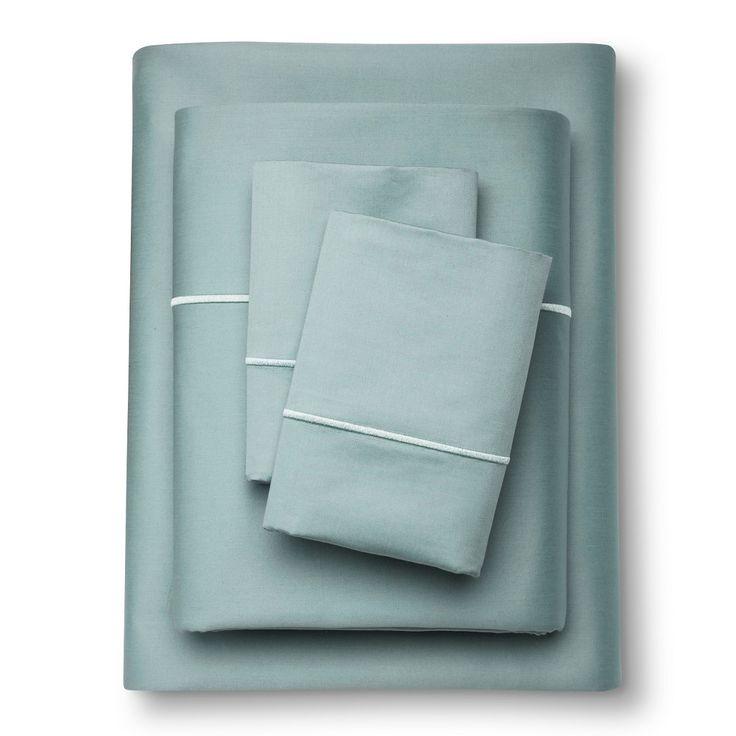 Egyptian Cotton Sheet Set (Cal King) Aqua Spill 1000 Thread Count - Fieldcrest