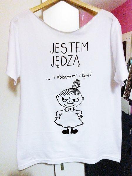 MAŁA MI ... koszulka ręcznie malowana #niezchinzpasji