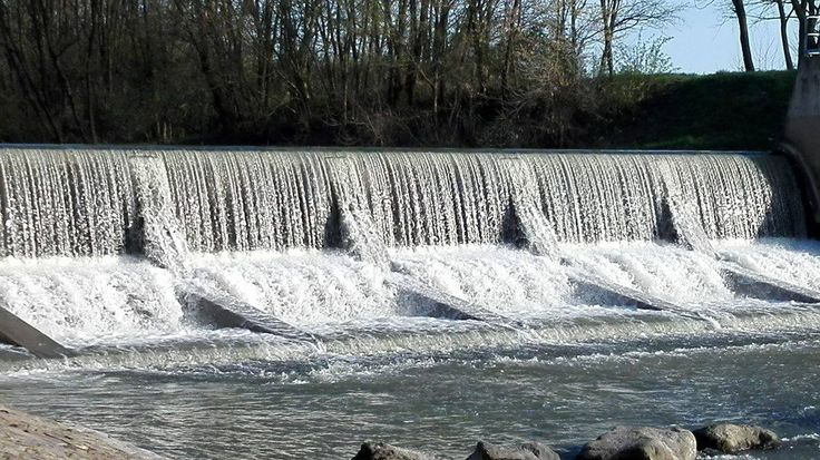 dam at the junction of Túr and Tisza. Hungary