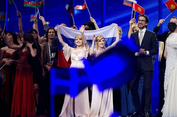 The winners of the first Semi-Final for the Eurovision Song Contest 2014, on May 6, 2014 in Copenhagen, Denmark.