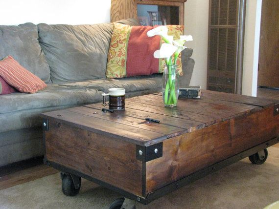 17 best ideas about coffee table with wheels on pinterest diy coffee table coffee table with. Black Bedroom Furniture Sets. Home Design Ideas