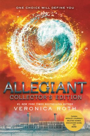 Divergent Series by Veronica Roth.  Allegiant Release Date: Mar 18, 2016.  The faction-based society that Tris Prior once believed in is shattered—fractured by violence and power struggles and scarred by loss and betrayal. So when offered a chance to explore the world past the limits she's known, Tris is ready. Perhaps beyond the fence, she and Tobias will find a simple new life together, free from complicated lies, tangled loyalties, and painful memories. (from publisher)