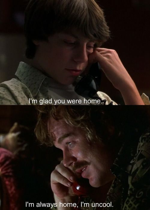 Almost Famous. One of my favorites!!! I LOVE this movie! I wanted my life to be like the main characters lives so badly lol.