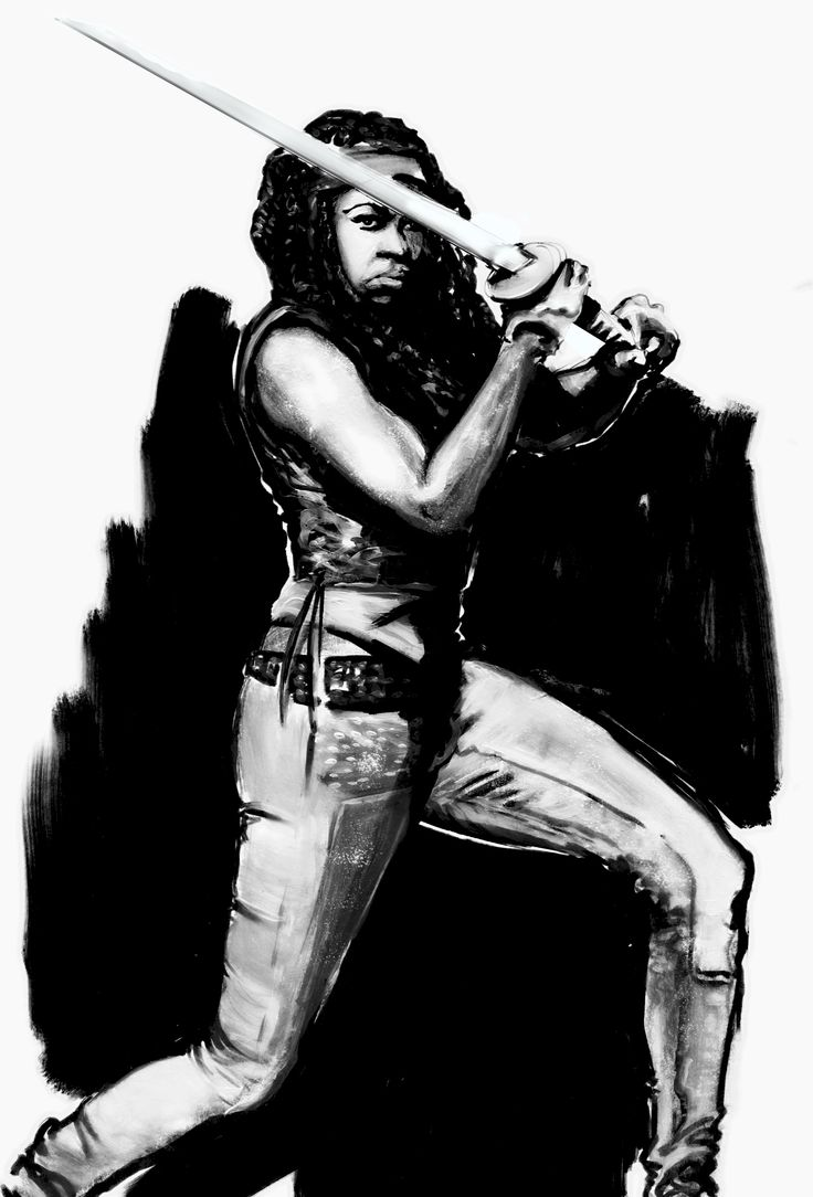 """Michonne"" by F.Colafella"
