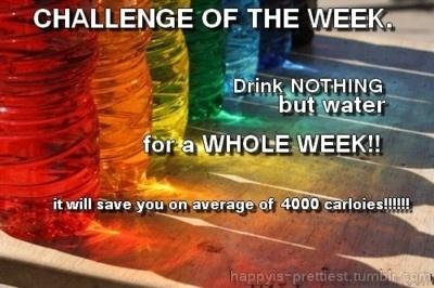 Drink nothing but water challengeFit, Drinks Water Challenges, Inspiration, Diabetes, Garden, Health, Challenges Accepted, Challenge Accepted, Enamels