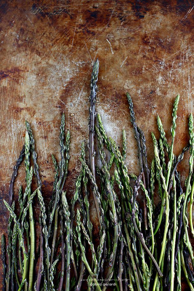 Polpette di Cous Cous al forno con verdure e Asparagi Selvatici