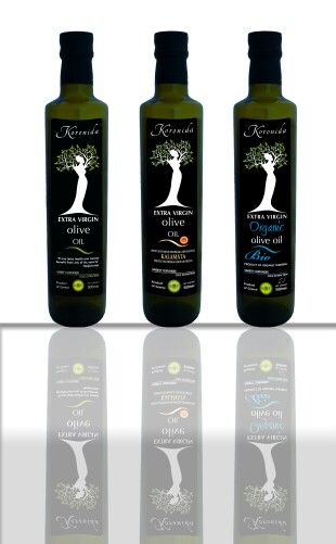 Olive oil KORONIDA on Packaging of the World - Creative Package-Design Gallery