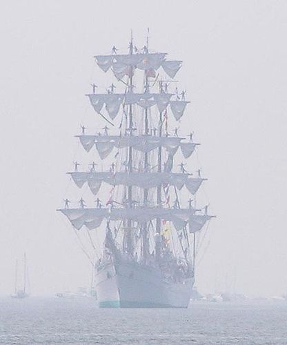 Tall Ship- love this pic!