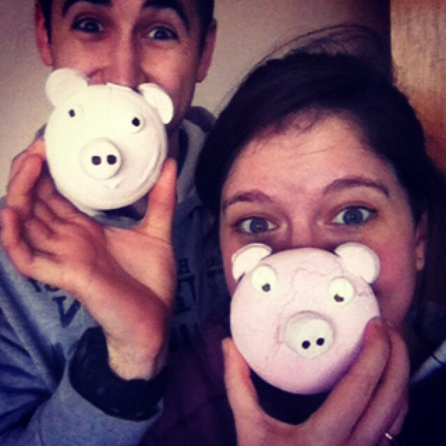 #100happydays day 59... Pigs!