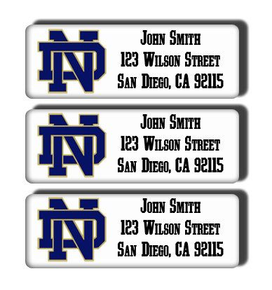 College Logo With Address Labels