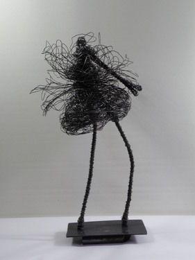 """Saatchi Online Artist D S León; Sculpture, """"Enrredos"""" #art"""