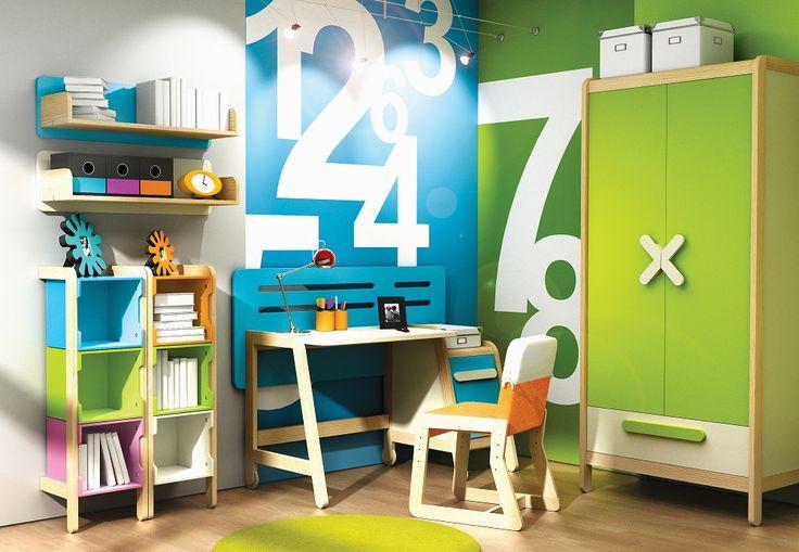 Pokój dziecięcy i młodzieżowy : SIMPLE collection  http://sweethomeshop.pl/pokoj-mlodziezowy/click-collection-53-158-detail