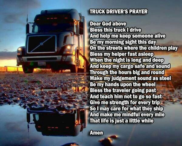 Trucking | Fb page supporting our truckers Www.facebook ... |Lifted Truck Poems