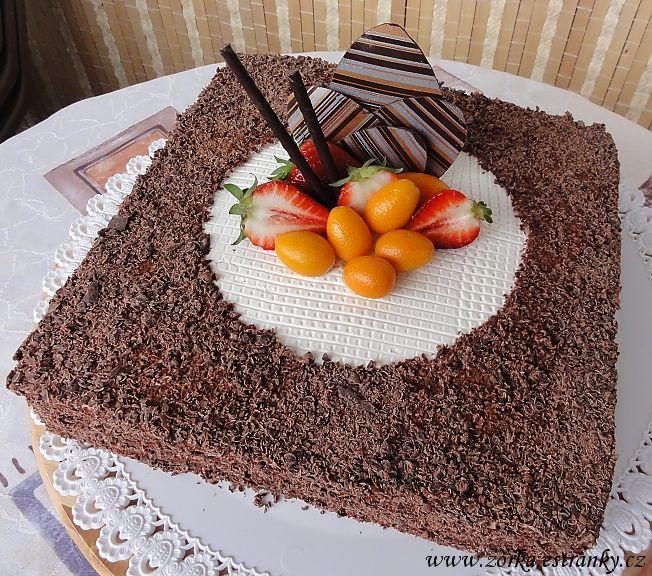Dorty, řezy, dobroty - Fotoalbum - Moje dorty tematicky řazené - Dorty zdobené čokoládou
