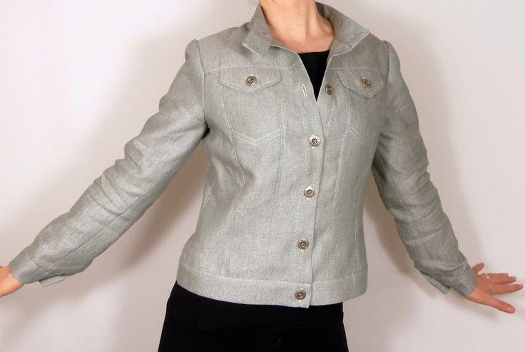 Patron veste Topaze // Histoire de Coudre - SB Créations Couture - Patron veste en jeans