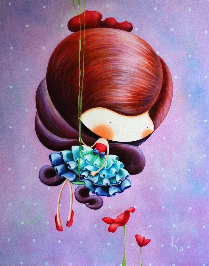 Картины для детских комнат Катерина Лукащук