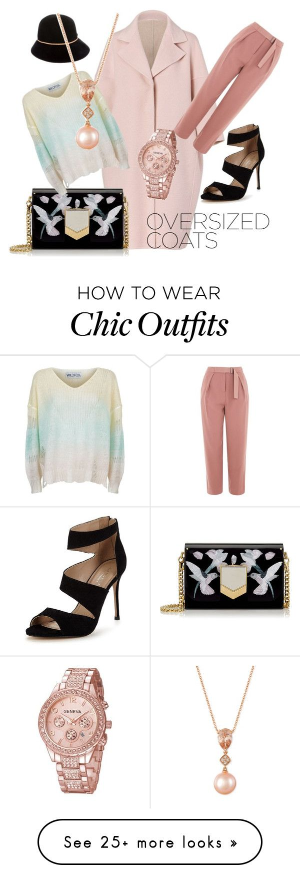 """""""Fashion look"""" by debaf on Polyvore featuring Jil Sander, Topshop, Jimmy Choo, Carvela, Wildfox, Burberry and LE VIAN"""