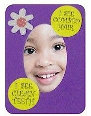 Daisy Girl Scout Mirror Craft
