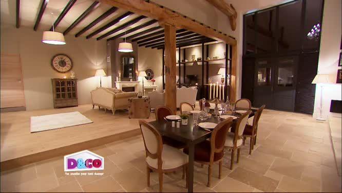 La cuisine de Christian et Véronique sol en pierre naturelle de Bourgogne