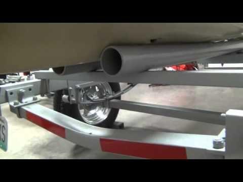 Cheap Trailer for Hobie Pro Angler - YouTube