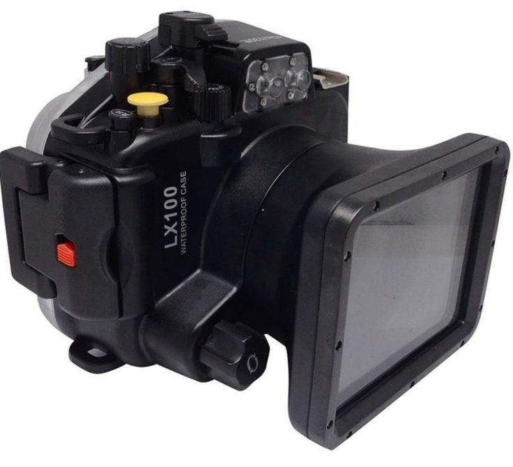 (238.00$)  Buy here  - Waterproof Underwater Housing Camera Housing Case for Panasonic Lumix LX100 24-75mm lens