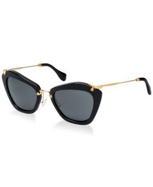 Miu Miu Sunglasses, Mu 10NS - Black