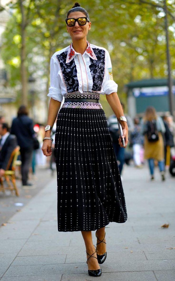 Giovanna Battaglia - the best street style looks from SS17 Paris Fashion Week - Sep 2016