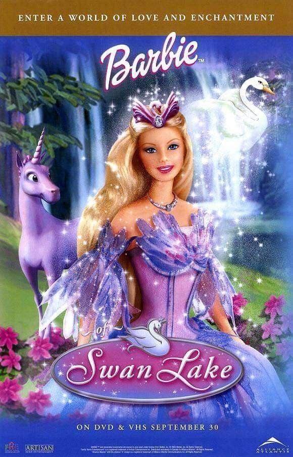 Pin De Sarah Bemerguy Cortes En Barbie Peliculas De Barbie Lago De Los Cisnes Barbie