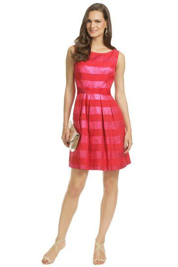 Trina Turk Striped Dress Charleston Wine Weekend