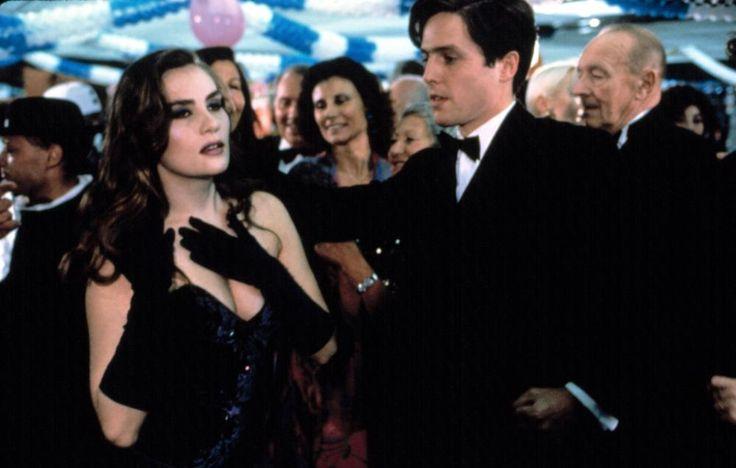 BITTER MOON, Emanuelle Seigner, Hugh Grant, 1992. | Essential Film Stars, Hugh Grant http://gay-themed-films.com/film-stars-hugh-grant/