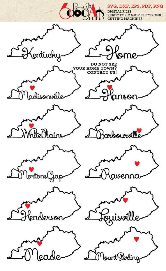 Pin By Ashley Elder On Art In 2021 Kentucky Outline Kentucky State Map Typography
