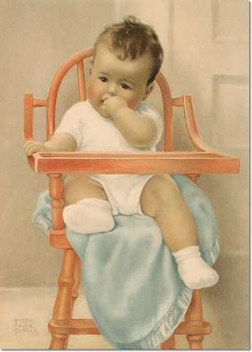 Gutmann, Bessie Pease  - Bessie Pease Gutmann - His Majesty Archival Fine Art Paper Print