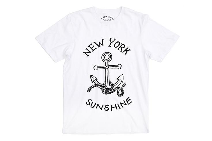 Anchor Shirt   www.newyorksunshine.com
