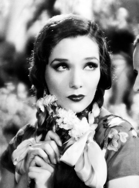 Lupe Velez in braids. Adorable.
