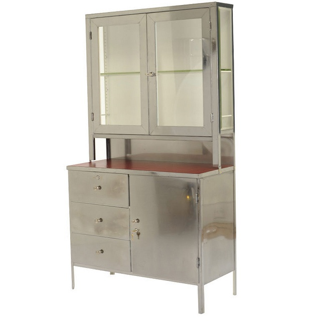 awesome modern industrial hutch ... Oh goodness yes yes yesyesyes!