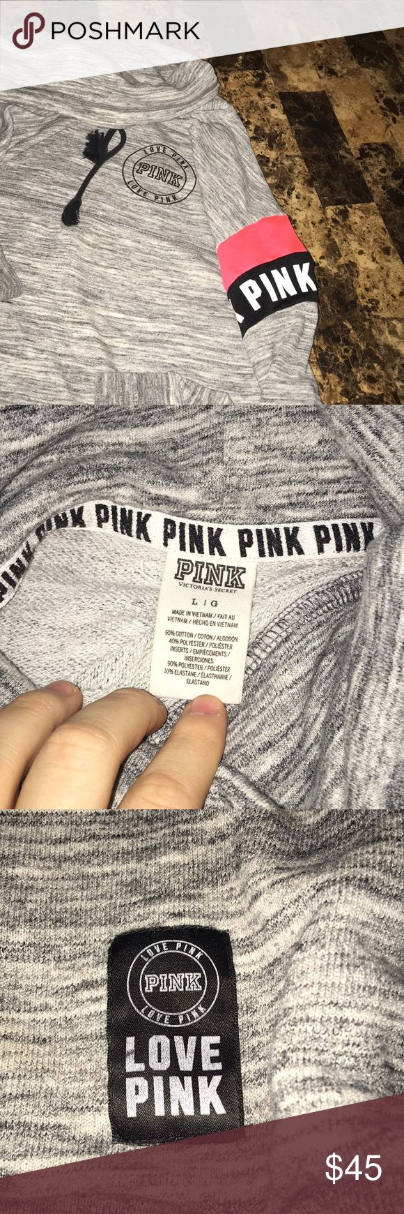 Pink vs sweater Grey black white has a little pink PINK Victoria's Secret Other