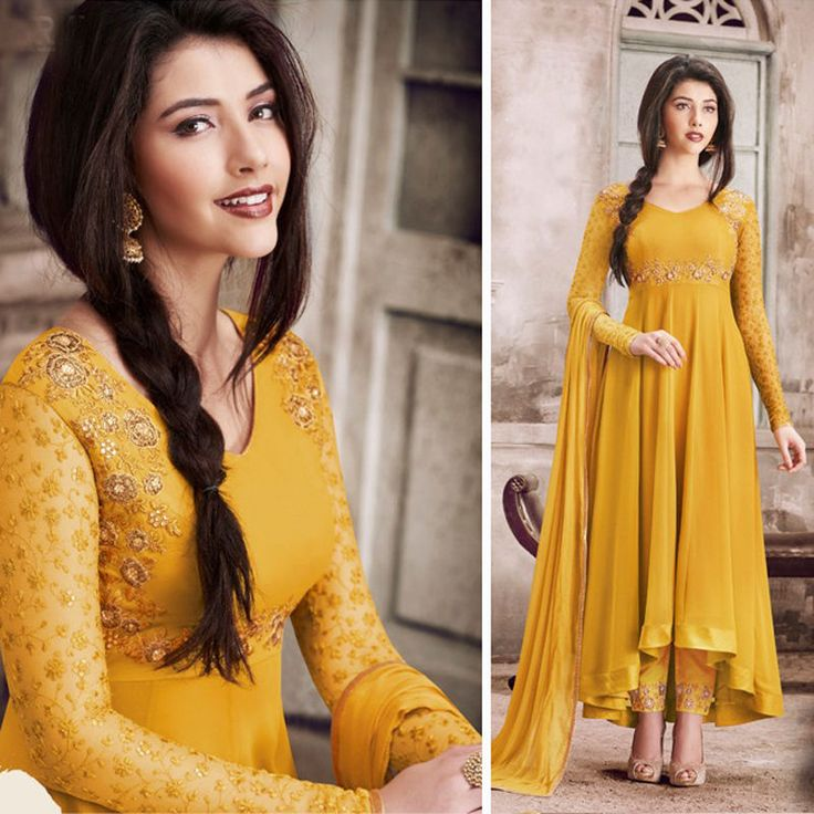 The kameez made in georgette with thread embroidery. kindly check the details about item before buying. we will notify you or share images. if you need stitching service or else we send unstitched. | eBay!