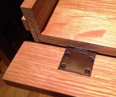 False Drawer Front For Keyboard Tray Woodworking