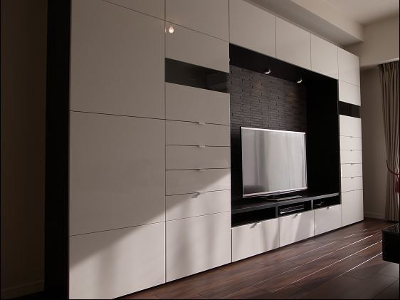 album 4 banc tv besta ikea r alisations clients s rie 1 tvs album and tv walls. Black Bedroom Furniture Sets. Home Design Ideas