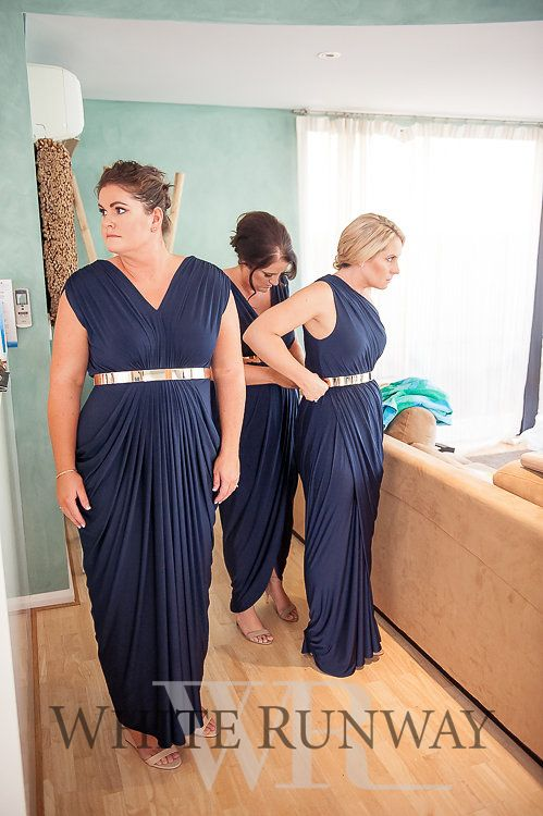 Our beautiful bride Brooke chose mixed Pia Gladys Perey styles in Navy.  The…