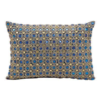 Nourison Rug Kathy Ireland Marble Beads Decorative Pillow